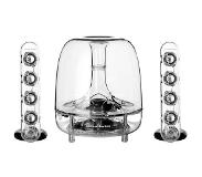 Harman/Kardon SoundSticks III luidspreker set 2.1 kanalen 30 W Transparant