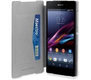 Muvit Sony MFX Xperia Z2 Ultra Slim Folio Card case - White