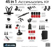 Pro Mounts 45-in-1 Kit Accessoireset voor GoPro