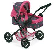 Bayer-Chic BAYER CHIC 2000 Mini-Poppenwagen SMARTY, Sterretjes pink