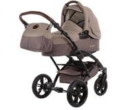 Knorr-Baby combi-kinderwagen, »Voletto Happy Colour, beige/bruin«