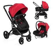 Little World City Walker Combi Kinderwagen Rood (incl. autostoel)