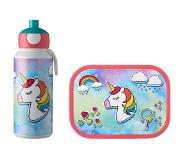 Mepal Lunchset Campus (pop-up drinkfles en lunchbox) - Unicorn Acrylonitril butadieen styreen (ABS)