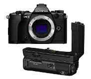 Olympus OM-D E-M5 Mark II systeemcamera Body Zwart + HLD-8 Battery Grip