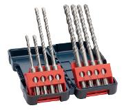 Bosch 8- delige SDS plus-3 hamerboren ; 8 st Tough Box Set