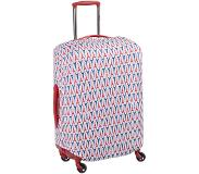 Delsey Travel Necessities Expandable Suitcase Cover S/M ultramarine Kofferhoes