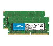 Crucial Apple 32GB DDR4 SODIMM 2400 MHz Kit (2x16GB)