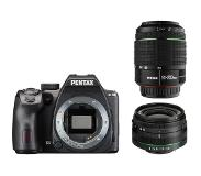 Pentax K-70 Black + 18-50mm WR + 50-200mm WR