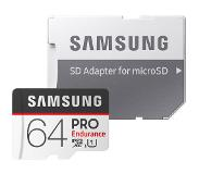 Samsung microSDXC PRO Endurance 64GB 100 MB/s + SD Adapter