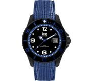 Ice Watch Ice-Watch horloge Ice Metal Black-Blue 44 mm IW015783