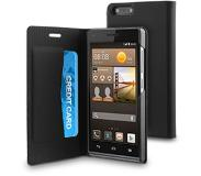 Muvit Huawei Ascend G6 Folio Case - Black