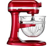 KitchenAid Artisan 5KSM6521XECA Keukenmachine - Appelrood