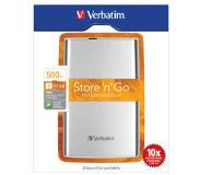 Verbatim Store 'n' Go USB 3.0 Portable Hard Drive 500GB externe harde schijf Wit
