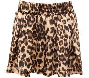 ComeGetFashion Satin Leopard Shorts (Vrouw, Maat S, Panterprint, Taille Shorts)