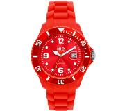 Ice Watch Ice Watch-voor altijd - armband - polyamide - Rood - Siliconen - Rood - Ronde SI.RD.S.S.09