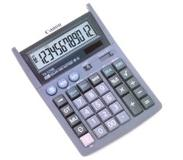 Canon TX-1210E calculator Desktop Rekenmachine met display Lila