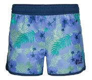 Jack Wolfskin short met all over print blauw Blauw 164