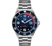 Ice-watch IW015775 ICE Steel Marine silver Large 44 mm horloge