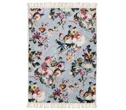 Essenza Fleur Vloerkleed 180x240 - Faded blue