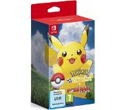 Games Pokemon: Let's Go, Pikachu! Bundle (inkl. Pokéball Plus), Switch. Game-editie: Basis, Platform: Nintendo Switch, Genre: RPG (Role-Playing Gam