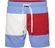Tommy Hilfiger ZWEMBROEK FLAG MEDIUM DRAWSTRING, Large (Blauw, Rood, Wit, L)