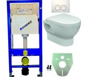 Geberit Inbouwtoilet Set Geberit UP 100-2