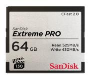 SanDisk Extreme Pro CFast 2.0 64 GB 525 MB/s