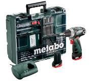 Metabo Powermaxx BS Basic (2 accu's) + 58-delig accessoires set