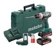 Metabo BS 18 Quick (2000 mAh) + 9-delig accessoires set