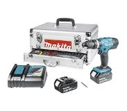 Makita Accuschroefboormachine set DHP453RFEX 18V