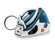 Tefal Pro Express Ultimate Care GV7850 2400W 1.6l Durilium Autoclean soleplate Blauw, Wit stoomstrijkijzer station
