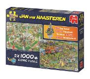 Jumbo Jan van Haasteren 2 in 1 - Food truck festival & Bbq at the park 1000 pcs 1000 stuk(s)