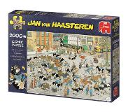Jumbo Jan van Haasteren The Cattle Market 2000 pcs Legpuzzel 2000 stuk(s)