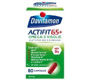 Davitamon Actifit 65 plus omega-3 visolie