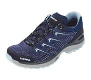 Lowa Trailrunning Schoen Lowa Woman Maddox GTX Lo Ws Navy Ice Blue-Schoenmaat 41,5 (UK 7.5)