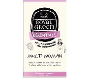 Royal green Multi woman