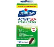 Davitamon Actifit 50 plus omega-3 visolie