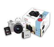 Canon EOS M50 + 15-45mm wit Peter Hadley Kit