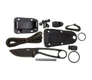 ESEE Izula Black IZULA-B-KIT survivalset met schede en firesteel