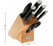 Zwilling J.A. Henckels Four Star II-messenblok 8-delig
