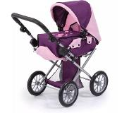 Bayer poppenwagen City Star paars/roze 81 cm