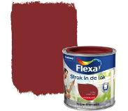 Flexa Strak In De Lak Hoogglans 1030 Antiekrood 0,25 L
