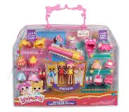 Lalaloopsy Minis Deluxe Doll - Spot Splatter Splash and Crumbs Sugar Cookie pop
