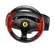 Thrustmaster Ferrari Racing Wheel Red Legend PS3&PC Stuurwiel + pedalen PC,Playstation 3 Zwart, Rood