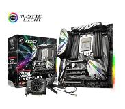 MSI MEG X399 CREATION Socket TR4 AMD X399 Verlengd ATX