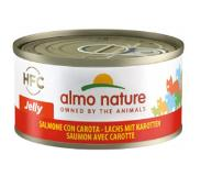 Almo Nature HFC Zalm met Wortel 70 gram Per 12 (Legend)