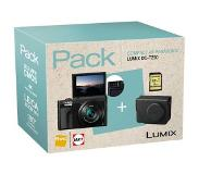 Panasonic compact camera LUMIX TZ90 INCL. TAS EN 8GB SD-KAART