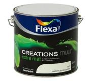 Flexa Creations muurverf morning snow extra mat 2,5 liter