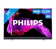Philips OLED+ 903 ultradunne 4K UHD Android TV 55OLED903/12