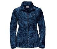 Jack Wolfskin Kiruna Jungle fleecejack Blauw XL